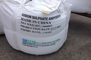 CAS: 7757-82-6 Sodium Sulphate Anhydrous - Chemical SSA - Detergent Raw Material